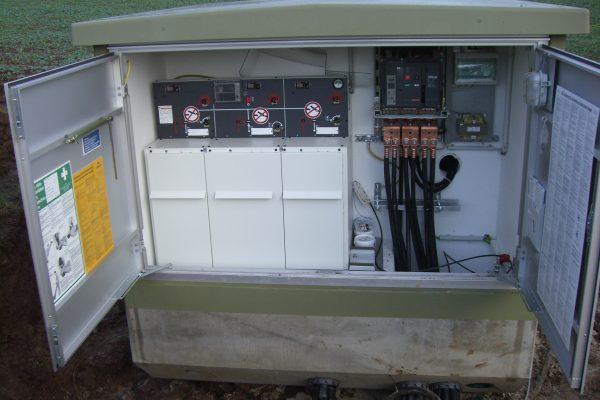 Kompaktstation - nicht begehbar