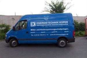 Energietechnik Küper Transporter