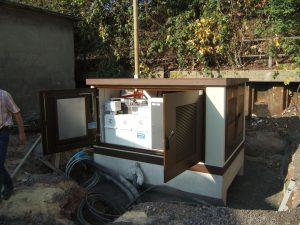 Betonstationen: Montage Kompaktstation