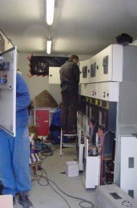NS- und MS- Schaltanlagen : Station Montage